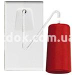 Выключатель на верёвке одномодульный, однополюсный, одноклавишный, 1P NO 20A-250v, серый, AVE 45517