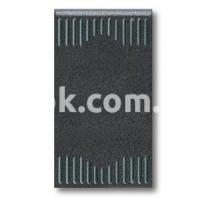 Выключатель проходной одномодульный, однополюсный, одноклавишный, 1P 20A-250v, чёрный, AVE 45302