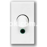 Регулятор (диммер) освещения, 60-900w, 230v, 50/60Hz, белый, AVE 45B18