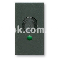 Регулятор (диммер) освещения, 60-900w, 230v, 50/60Hz, чёрный, AVE 45318