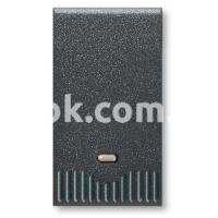 Регулятор (диммер) освещения кнопочный, 40-500w, 230v, 50/60Hz, чёрный, AVE 45348L