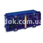 Коробка установочная на 6 модулей, AVE 2506