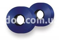 Изолента ПВХ 65х35 15мм (черная/синяя)