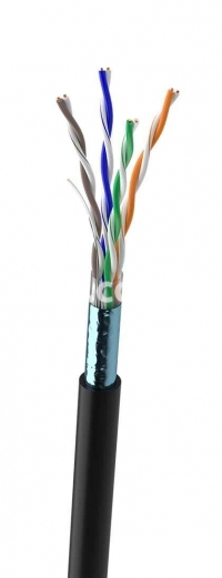 Lan-кабель КППЭ-ВП (100) 2х2х0,51 (F/UTP-cat.5Е) (уценка)