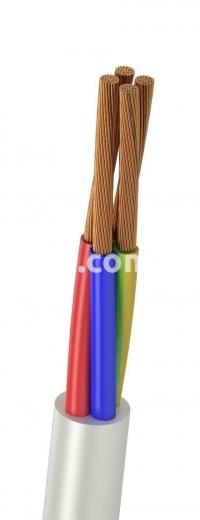Провод соединительный ПВСн 3х0,75+1х0,75 (уценка)